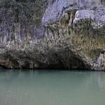 Le rocce lungo il fiume